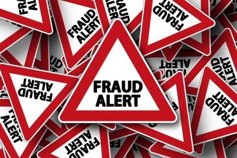 picture of fraud stickers